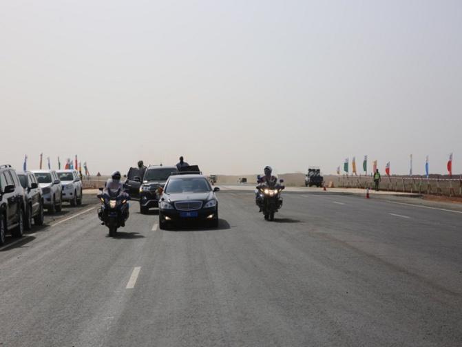 L'autoroute Ila Touba réservée seulement