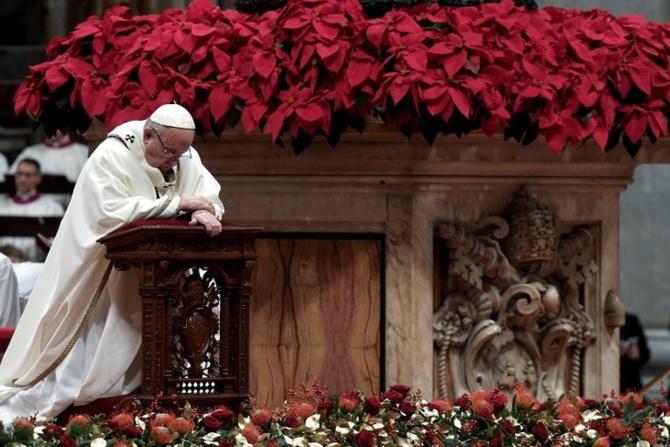Le Pape François : « L'homme est devenu avide et vorace. Avoir, amasser des choses semble pour beaucoup de personnes le sens de la vie »