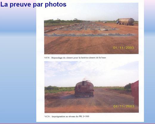PHOTOS-Preuve par la photo: ces images qui contredisent les experts de l'IGE dans les chantiers de Thiès!