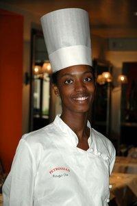 Rougi Dia, maître de cuisine du 144 Petrossian
