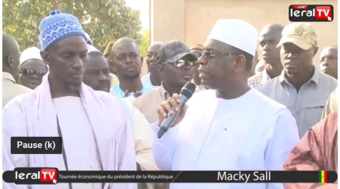 Vidéo - Macky Sall promet de changer le vécu des habitants de Kab Guèye