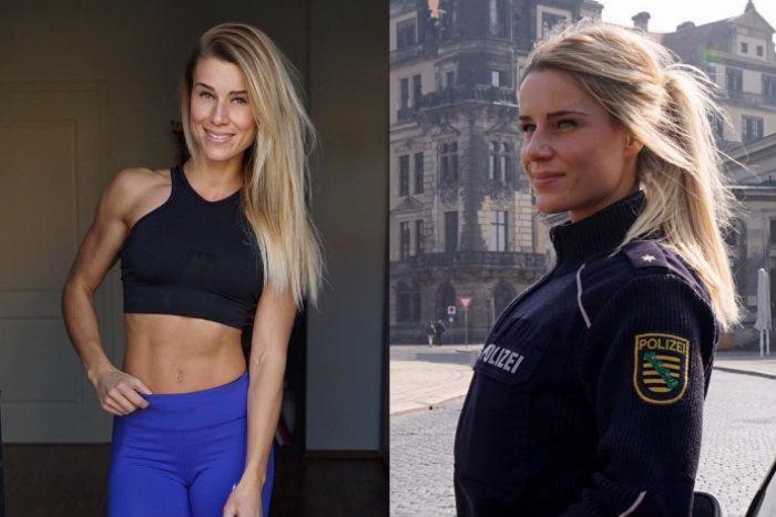 """La """"policière la plus torride d'Allemagne"""" va devoir choisir entre sa carrière et son compte Instagram"""
