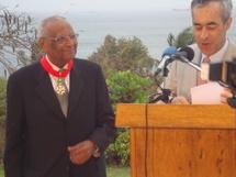 (Photos) Amadou Makhtar Mbow, Commandeur dans l'Ordre de la Légion d'Honneur de la République française
