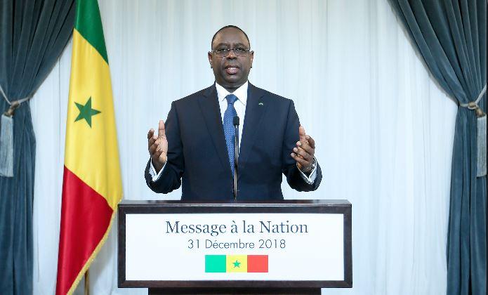L'intégralité du Message à la Nation du Président de la République Macky Sall à l'occasion du nouvel An