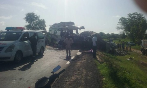 Kaffrine: un grave accident fait 2 morts et plusieurs blessés