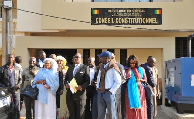 Déclaration sur le parrainage: Le Conseil Constitutionnel doit constater l'impossibilité objective d'exercice du contrôle juridictionnel