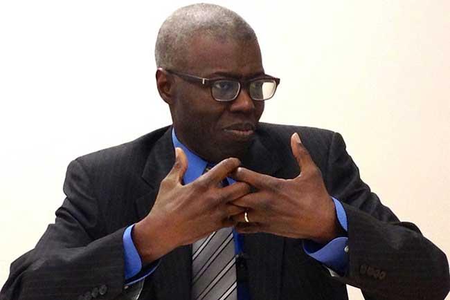 """Souleymane Bachir Diagne: """"On ne peut pas avoir de régression sur l'organisation matérielle des élections"""""""