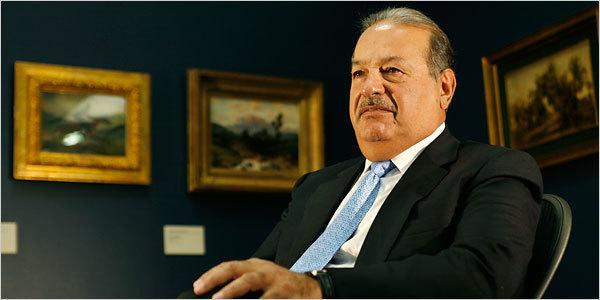 Le méxicain Carlos Slim, l'homme le plus riche du monde pèse 37 000 milliards de francs CFA