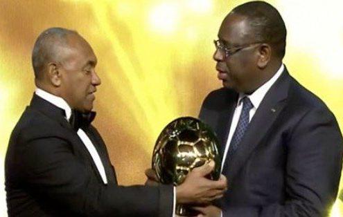 CAF Awards 2018: 500 millions FCFA pour une seule distinction à Macky Sall ?