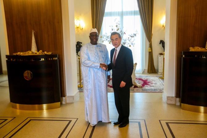 PHOTO - Visite au Sénégal du ministre chinois des Affaires étrangères ( Officiel)