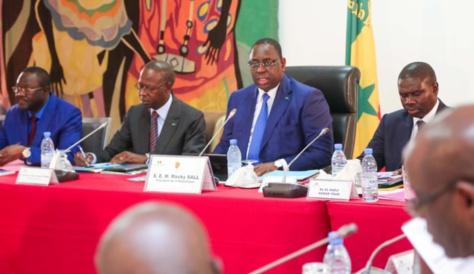 Communiqué du Conseil des ministres du 09 janvier 2019