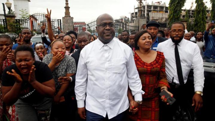 RDC: entre satisfaction et contestation après la victoire de Félix Tshisekedi