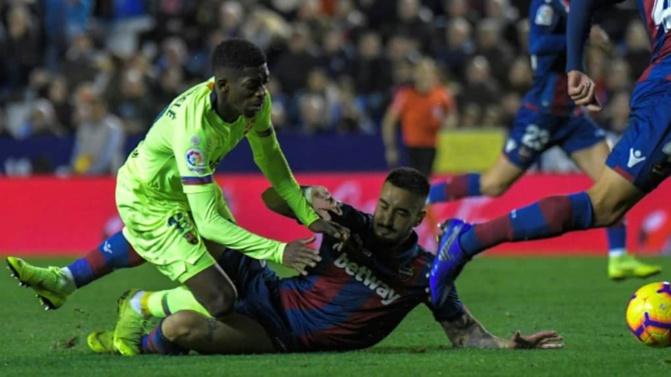 Levante-Barça 2-1, un piètre Barça trébuche en Coupe