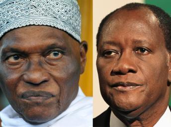 Le président Ouattara réserve sa première sortie à Dakar, jeudi (Wade)