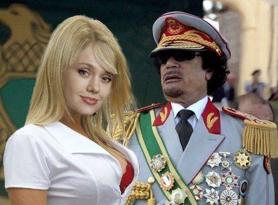 """La belle et plantureuse """"maîtresse"""" et infirmière de Kadhafi"""
