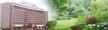 La « tanière » juchée à 950 m au-dessus de Yaoundé ; 28 chambres doubles et 4 suites réservées à l'hôtel Mont Fébé
