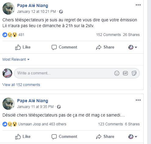 Censure à la 2STV : Pape Alé Niang mis au placard à cause de Ousmane Sonko ?