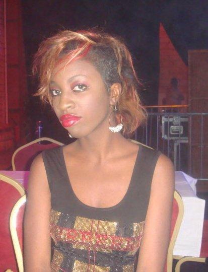 Fatoumata Binetou Coulibaly - la fille de Aby Ndour et du disc jockey Aziz Coulibaly