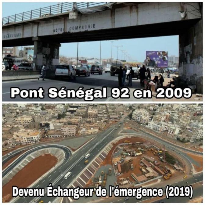 Trois images qui résument le progrès du Sénégal sous Macky Sall