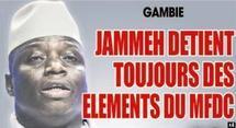 GAMBIE Jammeh retient encore 8 éléments du MFDC