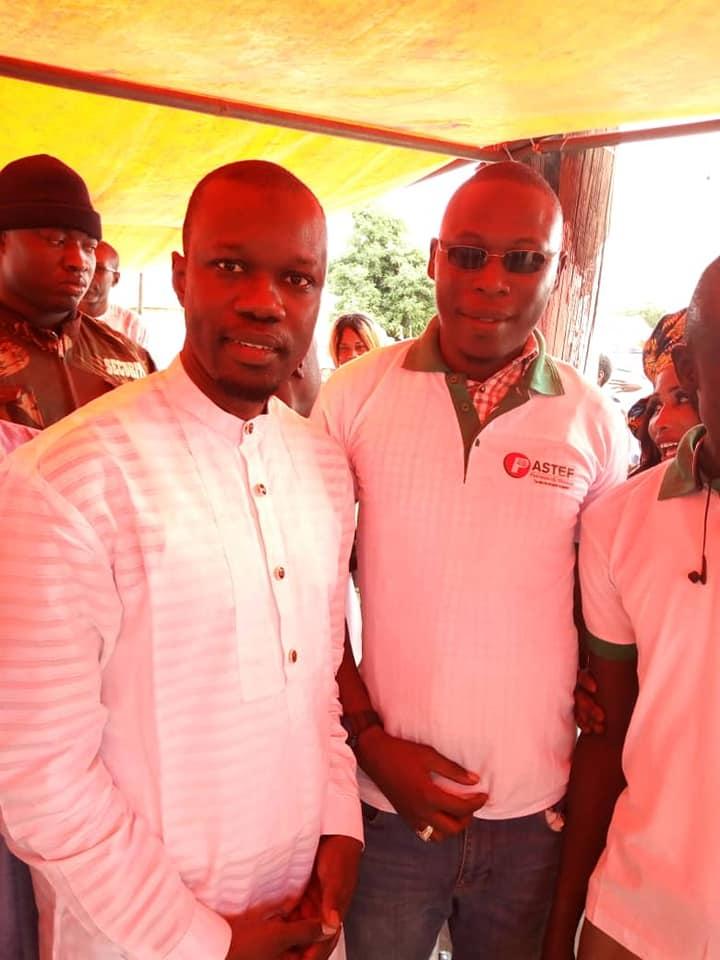 Les images du Meeting de El Hadji Djialigué Ba Sg du Der Président Commission juridique de Pastef de Ousmane Sonko