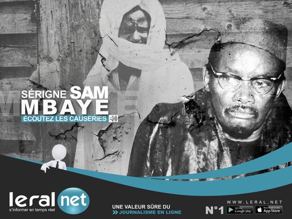 Causerie du vendredi : Serigne Sam Mbaye nous parle de la prière