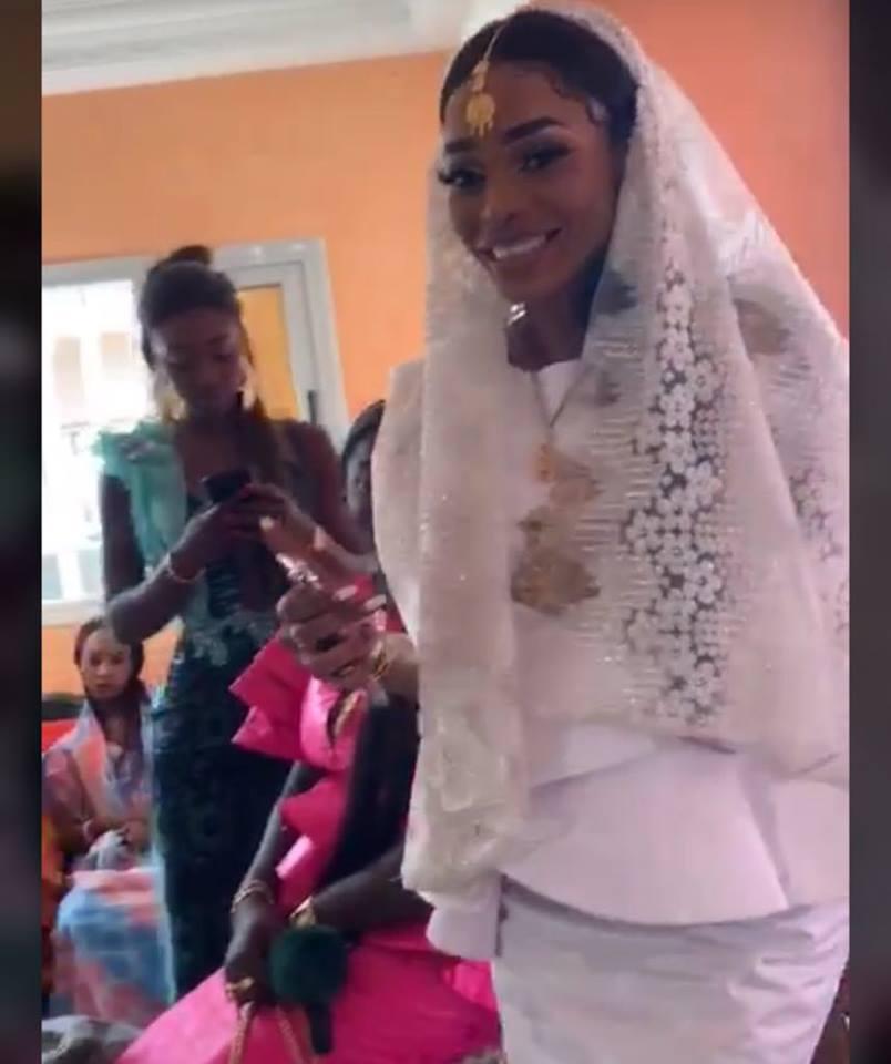 38 Photos : La journaliste Nafissatou Dièye s'est mariée avec...