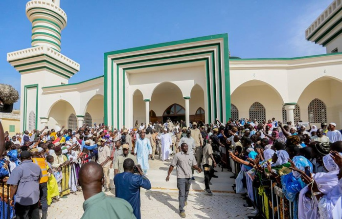 Photos: L'inauguration de la Grande mosquée de Guédiawaye par SE Macky Sall