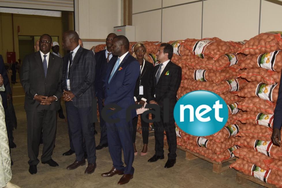 Inauguration du marché d'intérêt national de Diamniadio et de la gare des gros porteurs par le Chef de l'Etat Macky Sall