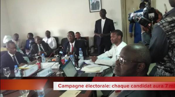 Campagne électorale: 7 minutes par jour à la RTS pour chaque candidat...Madické Niang ouvre, Ousmane Sonko ferme