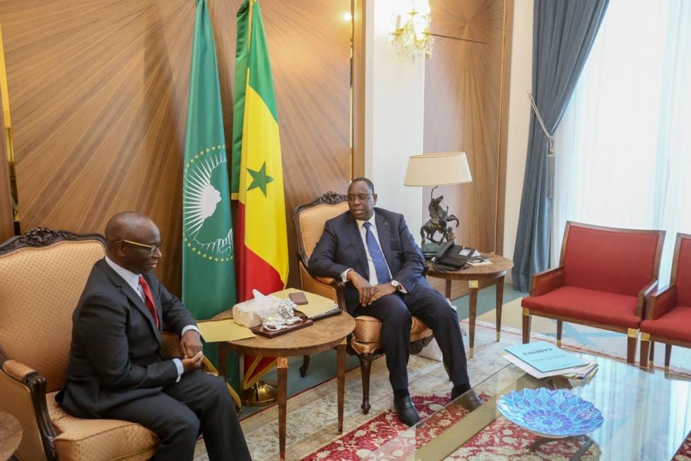 Photos : Abdoulaye Diop, l'ancien ministre de l'Économie et des Finances reçu par Macky Sall