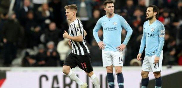 Manchester City battu à Newcastle, le titre s'éloigne