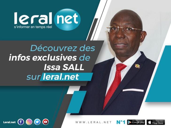 Pilote d'avion, informaticien, président d'Université : 10 choses à savoir sur Issa Sall, candidat à la Présidence du Sénégal