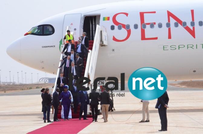 Les images de l'inauguration de l'Airbus A330-900 Neo à l'AIBD