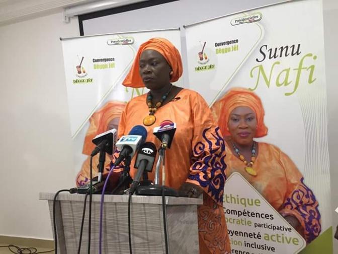 Nafissatou Wade présidente de la coalition « Degg Jeuf» rejoint la coalition IDY2019