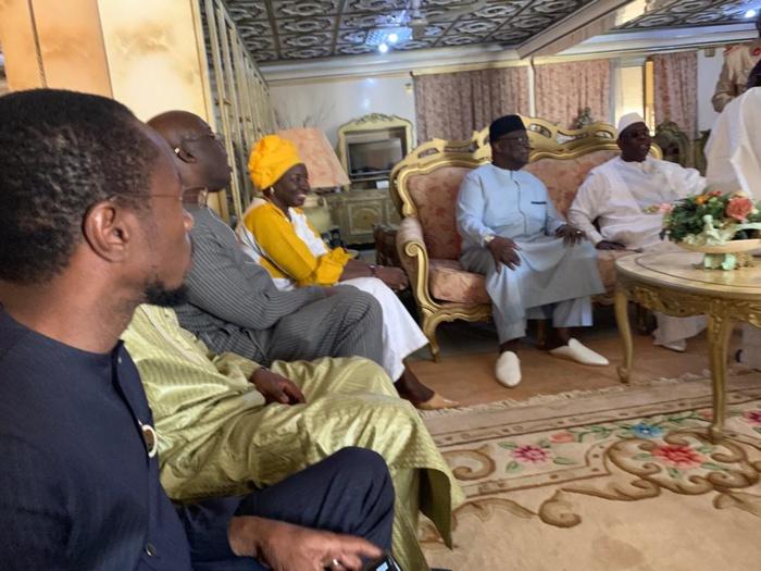 Photos : Macky Sall rend visite à Famara Ibrahima Sagna