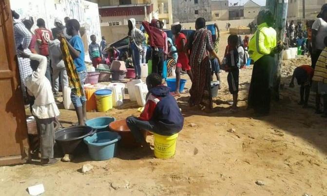 Grande pénurie d'eau dans plusieurs quartiers de Dakar