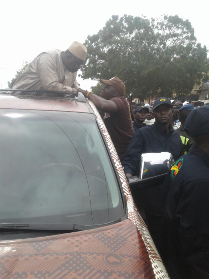 Photos : Ndoye Bane a accueilli en fanfare Macky Sall à Pire Gourèye