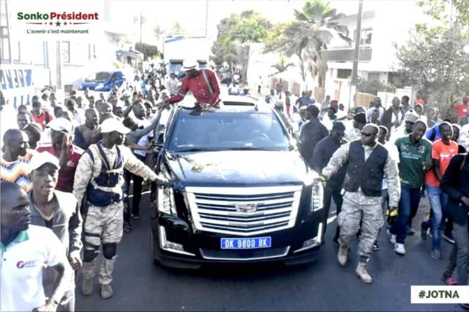 Ousmane Sonko à Guiguinéo : « Macky Sall ne pèse même pas 25% »
