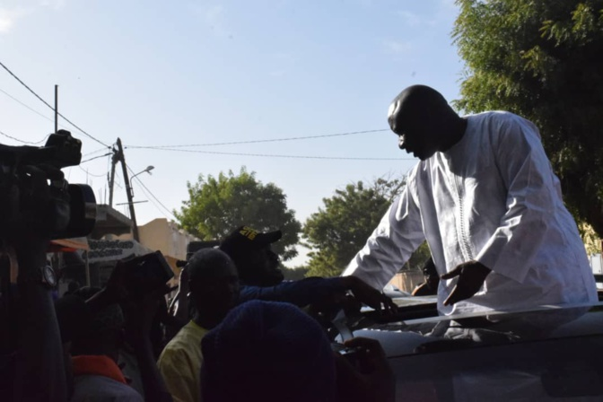 """Les images de la Coalition """"Idy 2019"""" à Ndangalma (Bambey)"""