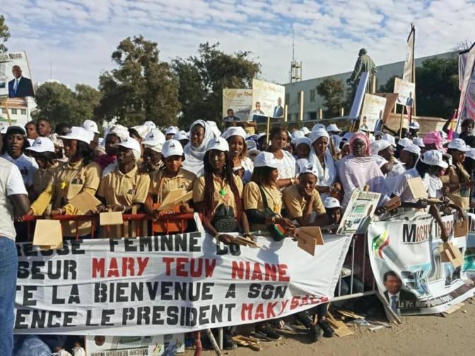 Macky Sall à Saint-Louis: La forte mobilisation de Mary Teuw Niane en images