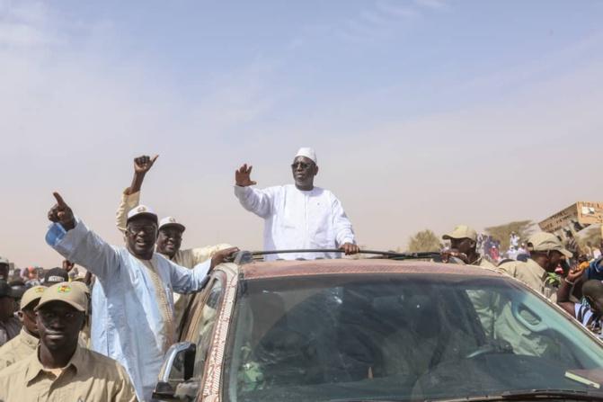 Moussa Sow grand artisan de l'accueil populaire de Macky Sall à Madina Ndiathbé dans le Fouta