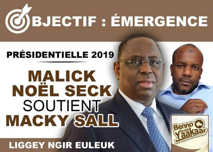 URGENT : Malick Noël Seck vote Macky Sall