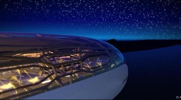 Airbus dévoile son avion transparent