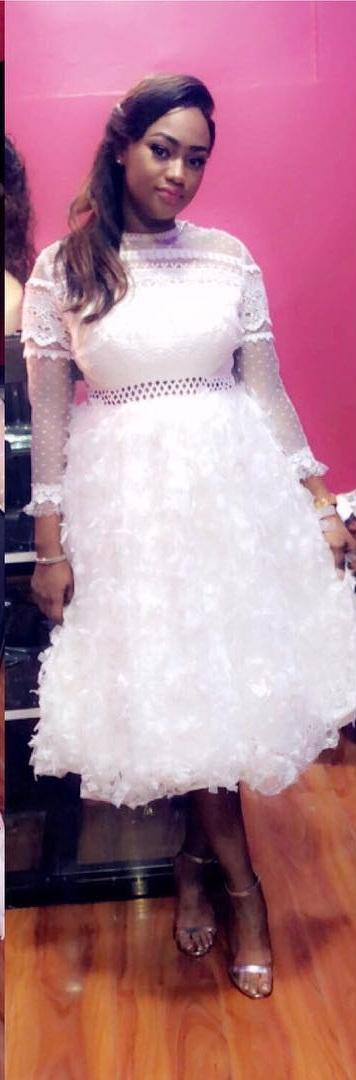 PHOTOS - Admirez la superbe robe de star de Kya Aidara !