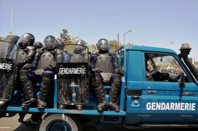 Macky Sall présente ses condoléances à la Gendarmerie nationale et aux familles éplorées