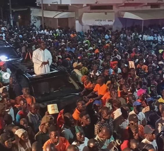VIDEO : Les temps forts de la caravane de Idrissa Seck à Sédhiou