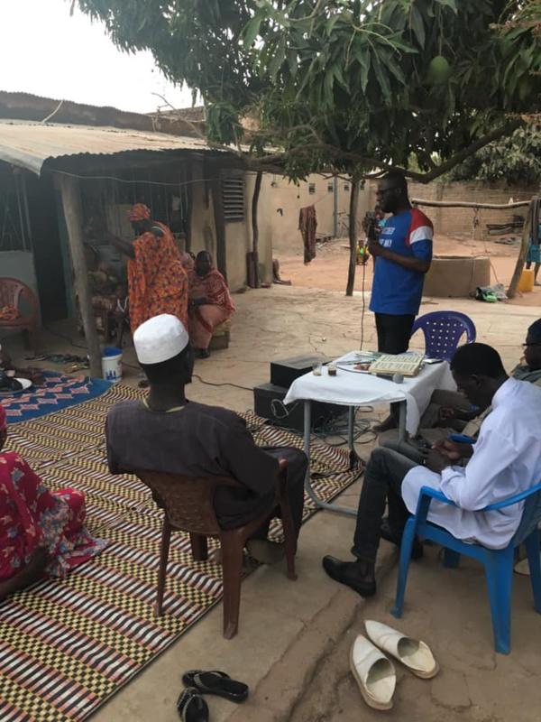 Tamba : Dr Seydou Kanté mobilise et sensibilise pour Macky Sall derrière Sidiki Kaba