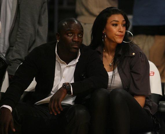 Photo : Akon et sa femme...