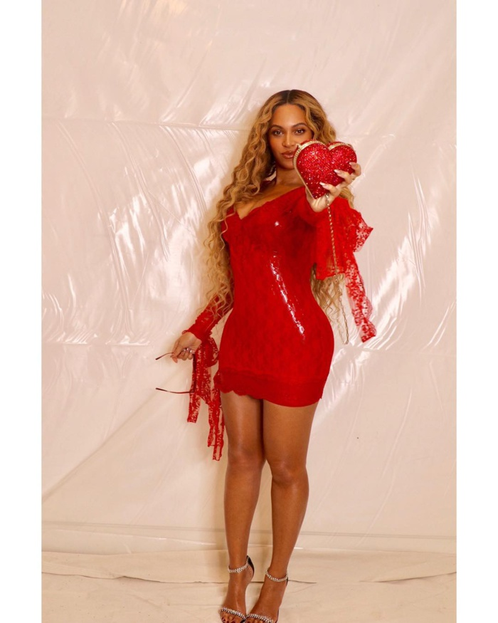 Photos : La Saint Valentin de Beyonce